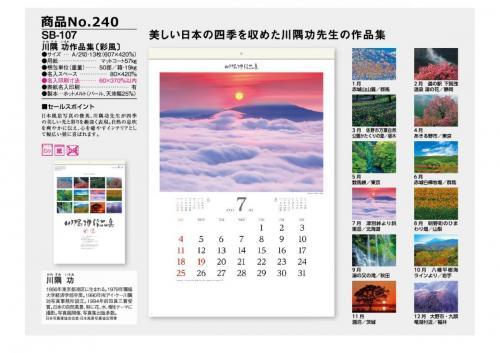 <span>No240</span>SB-107<br>川隅 功作品集〔彩風〕