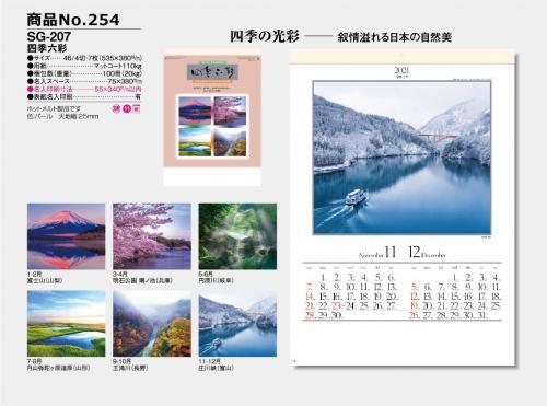 <span>No254</span>SG-207<br>四季六彩