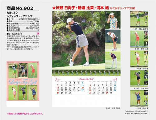 <span>No902</span>MH-12<br>レディーストップゴルフ